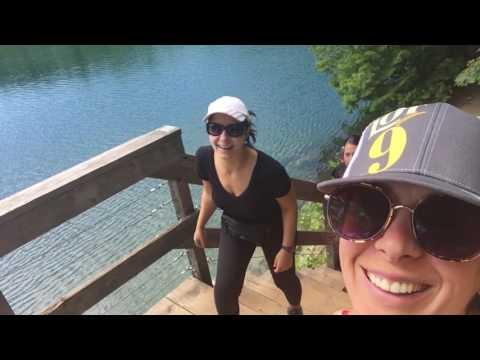 Soaking Up the Last Bit of Summer - Pink Lake Hike, Canada Travel VLOG