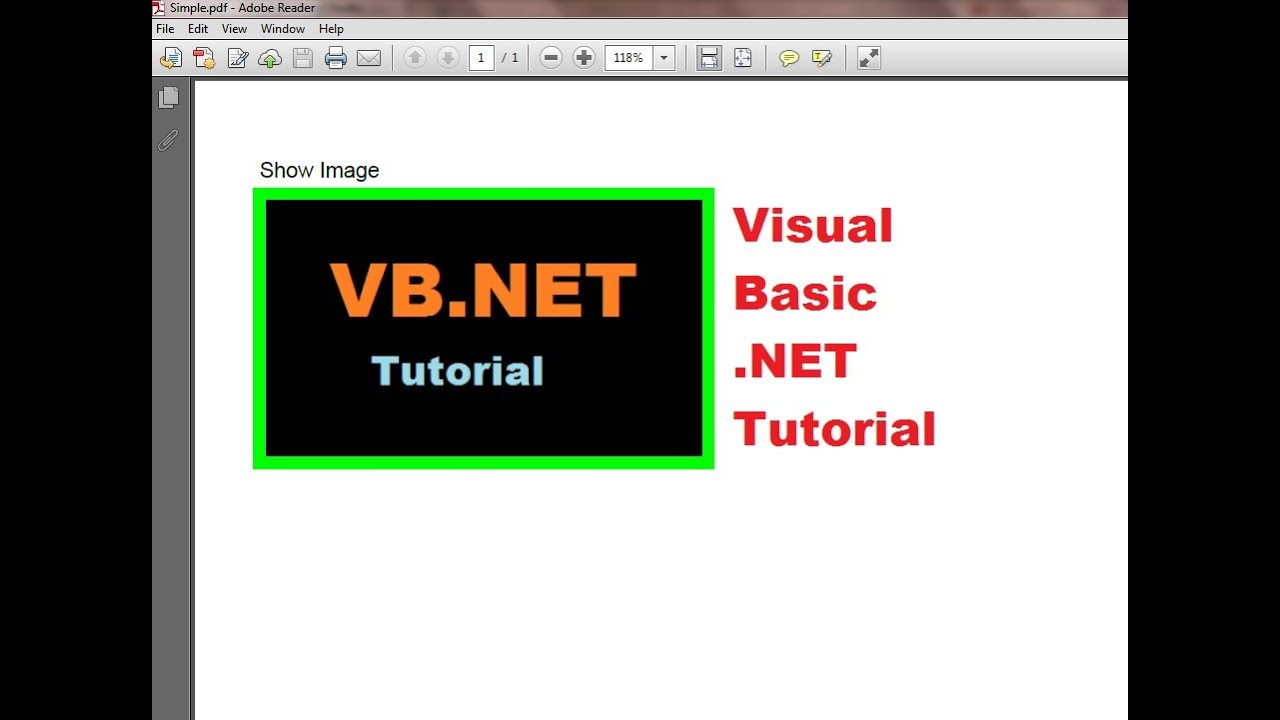COMPLETE VISUAL BASIC TUTORIAL PDF DOWNLOAD