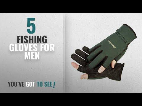 Top 10 Fishing Gloves For Men [2018]: Snowbee Light Weight Neoprene Fishing Or Shooting Gloves