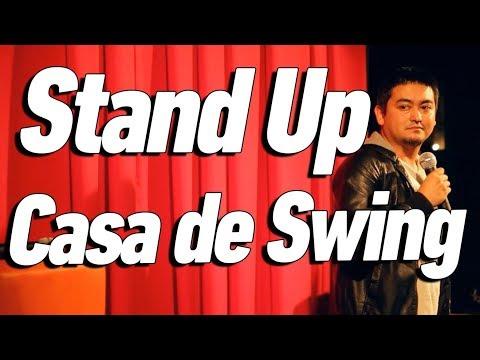 O DIA QU EU FIZ SHOW NUMA CASA DE SWING - Stand Up Comedy - André Santi
