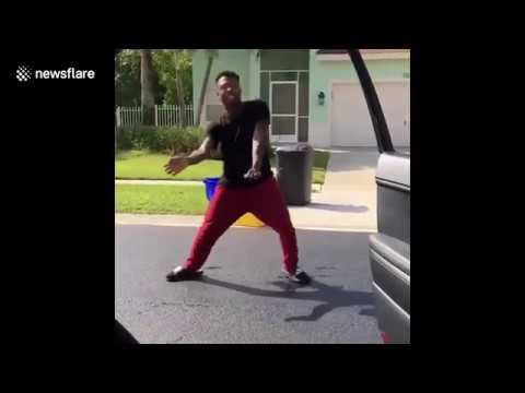 🤣 😂 MUST WATCH VIDEO: Florida man hit by car doing Drake's #InMyFeelings dance challenge