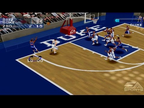 Ncaa March Madness 2001 Gameplay Exhibition Match Ps1psx