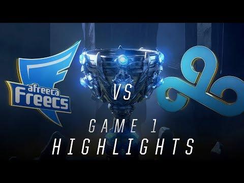 AFS vs C9 - Worlds Quarterfinal Match Highlights (2018)