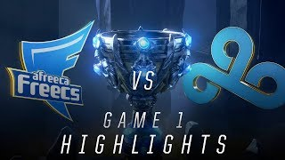 AFS vs C9 - Worlds Quarterfinal Match Highlights (2018)