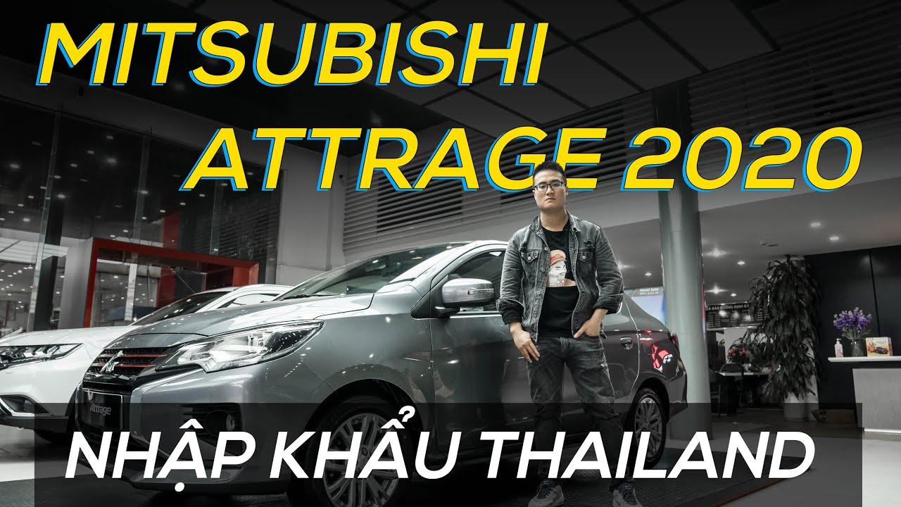 ✅Mitsubishi Attrage 2020:Đánh giá chi tiết,kèm giá bán,và thông số kĩ thuật xe.