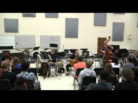 A clip of one of my bands during my graduate recital at MTSU. Week used to play every week around Nashville.