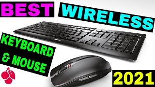 CHERRY Stream Desktop Wireless Keyboard and Mouse ⌨ unboxing and review 🖱