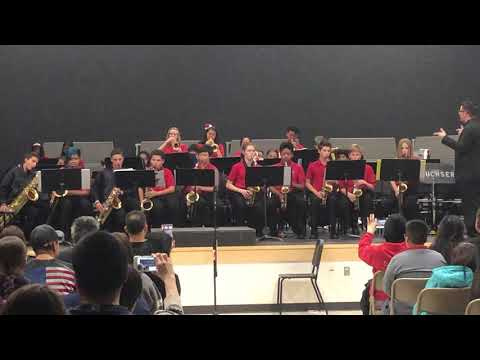 Buchser Middle School Band Winter 2018 concert - Don't Stop Believin