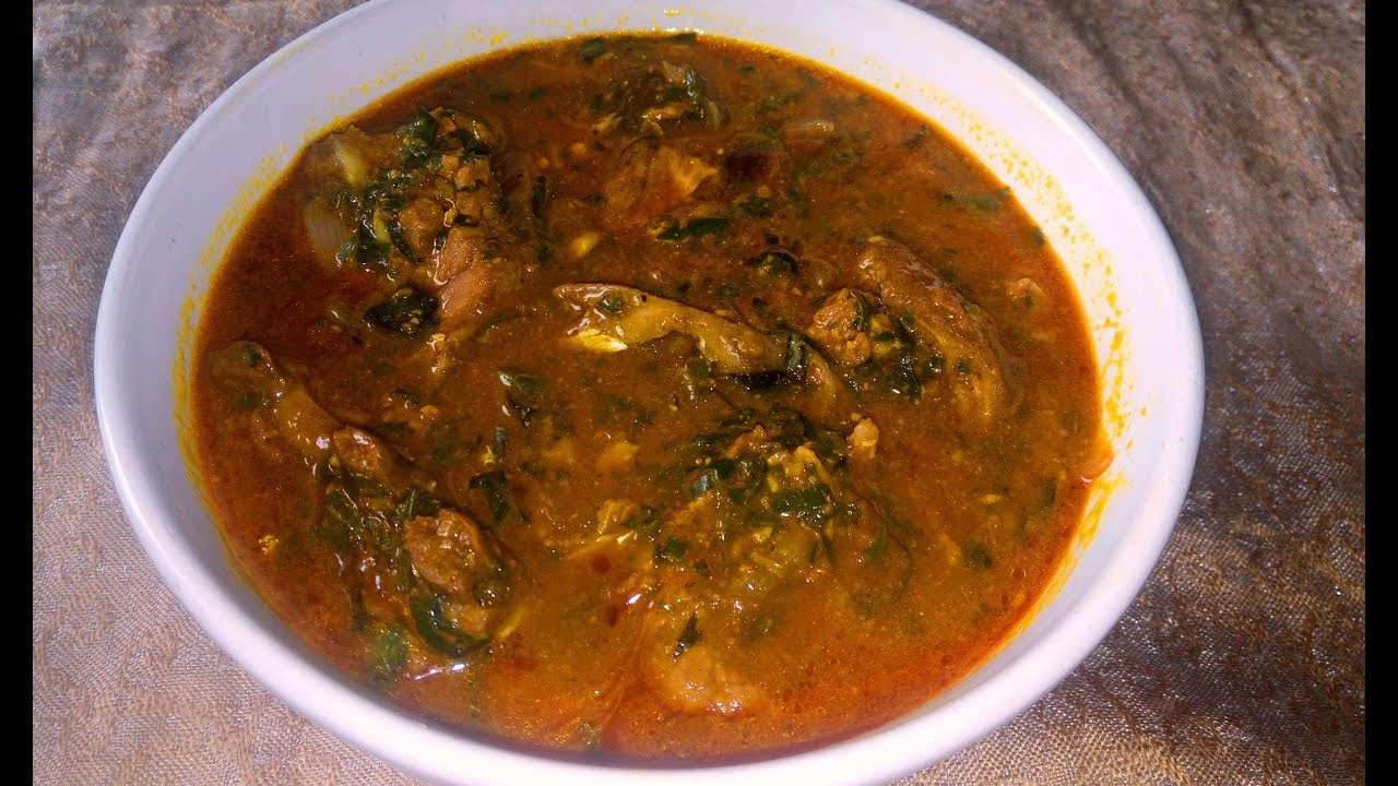 Ogbono Soup Recipe: How to make Delicious Ogbono soup ...