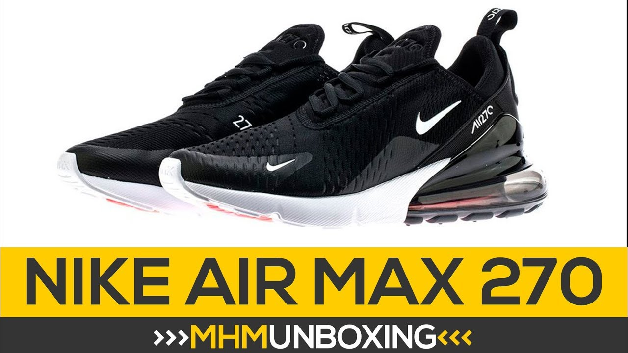 best website 8a26f 429e9 Nike Air Max 270 - Unboxing   Tênis Masculino