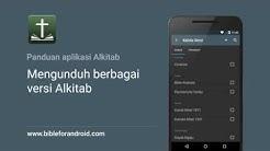 Unduh berbagai versi Alkitab (Fitur Aplikasi Alkitab Android)
