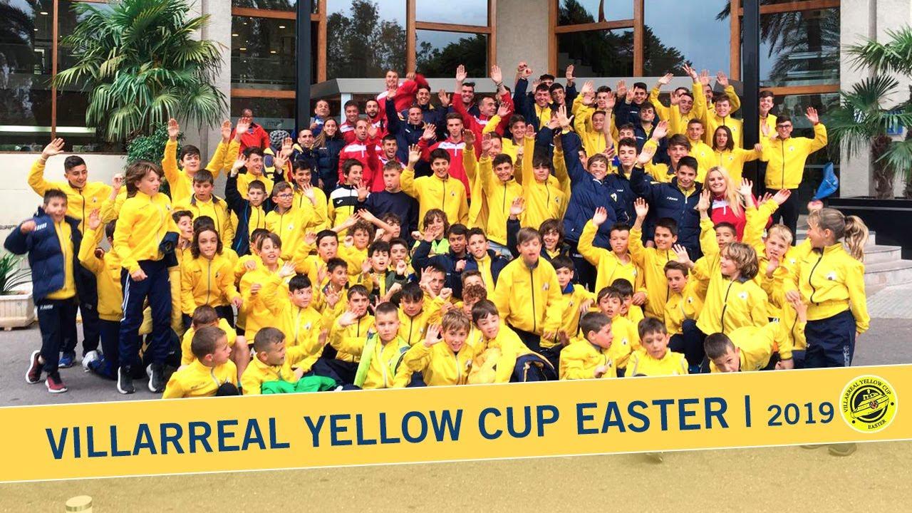 Llegada de los equipos a la Villarreal Yellow Cup Easter | 2019
