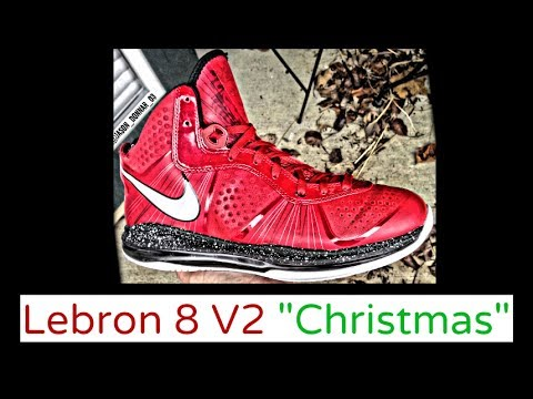 lebron 8 christmas. nike lebron 8 v2 \ lebron christmas i