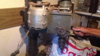 Модернизация сверлильного станка. Двигатель от стиральной машины