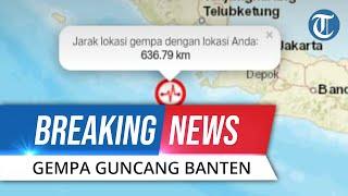 BREAKING NEWS : Gempa Magnitudo 7,4 Guncang Banten, Getaran Terasa di Solo Potensi Tsunami