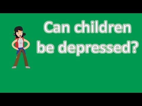 Can children be depressed ? | Health FAQ Channel