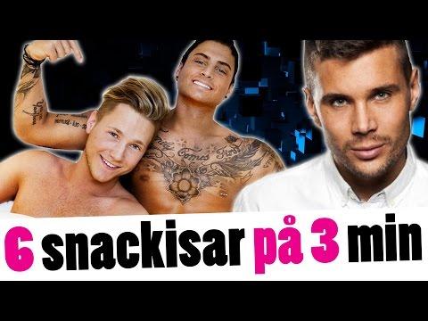 NÖJESSVEPET Samir & Viktor, Sigrid Bernson, Robin Bengtsson och Paradise Hotel