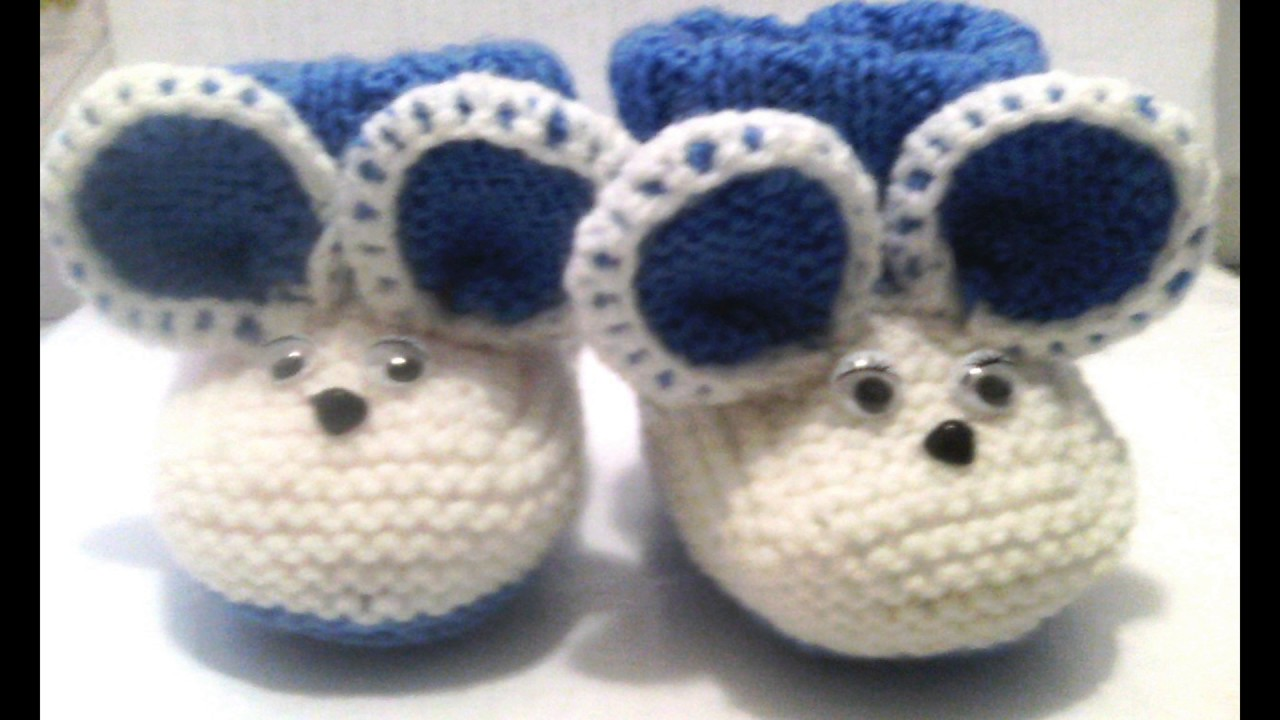 def6c528c zapatos de bebe tejidos a crochet