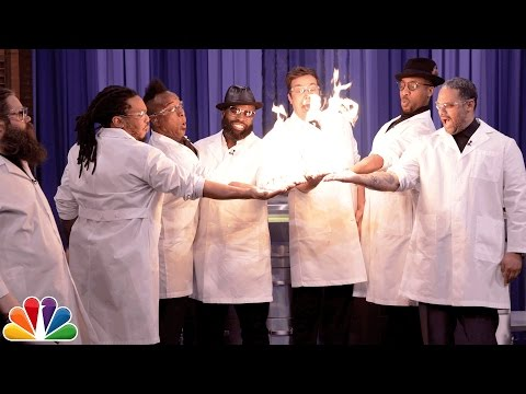 Thumbnail: Science Expert Kevin Delaney Lights Jimmy Fallon and The Roots' Hands on Fire