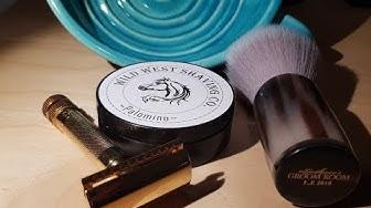 Wild West Shaving Soap - Merkur 34G - Rocco Contini Bowl