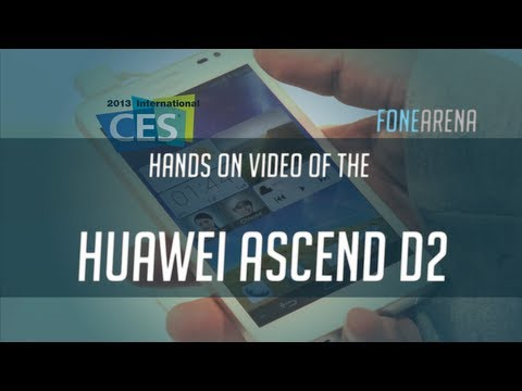 Huawei Ascend D2 Hands On