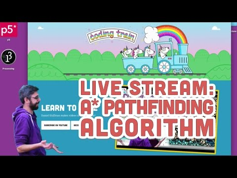 Live Stream #72: A* Pathfinding Algorithm