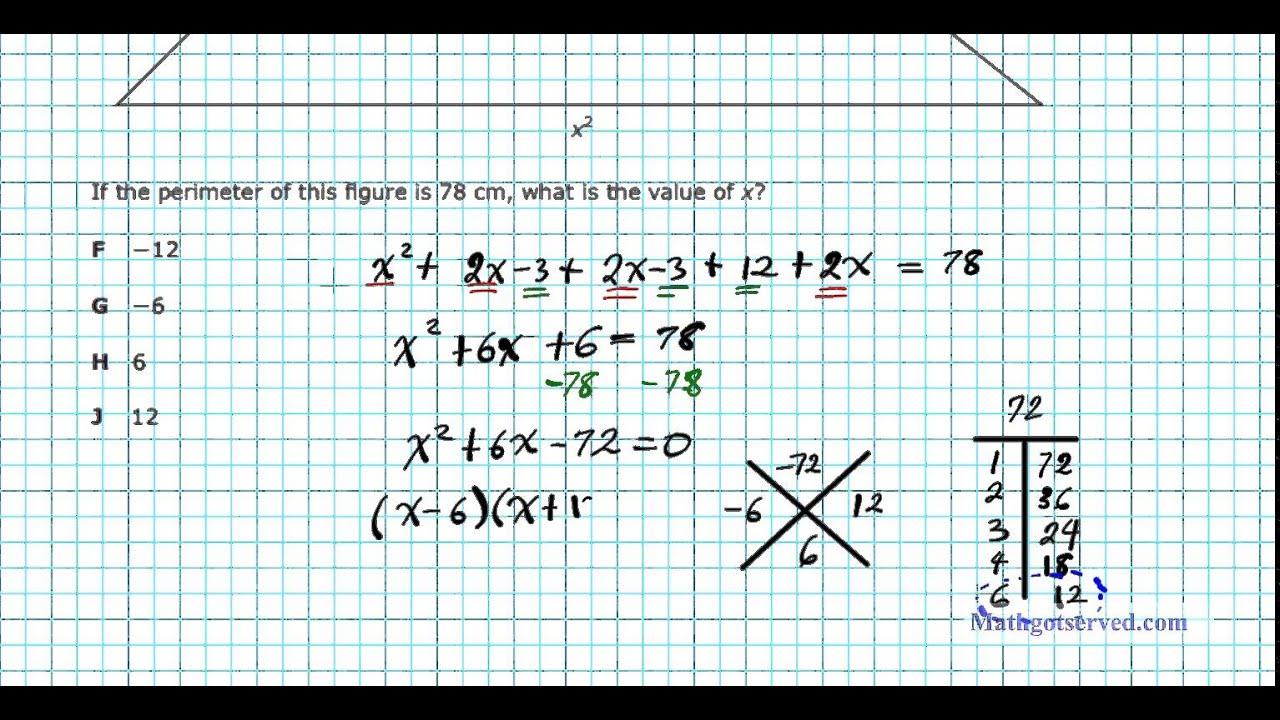 2014 algebra I EOC part STAAR II #6to 10 TEA End of Course ...