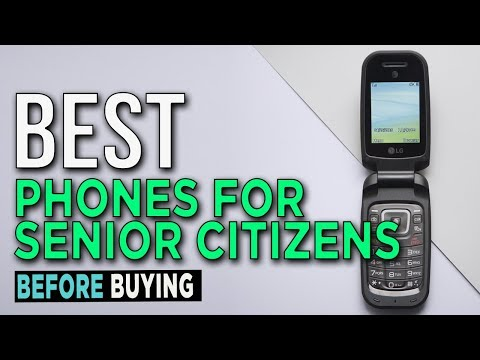 TOP 5: Best Phones For Senior Citizens 2017