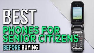 TOP 5: Best Phones For Senior Citizens 2017