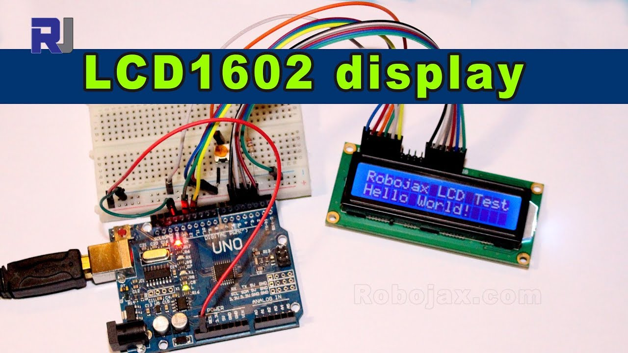 Using Lcd1602 Lcd Display For Arduino