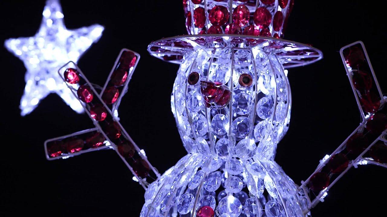 Super Stelle e pupazzi di neve - Luci LED di Natale By Merlo Carta  SG63