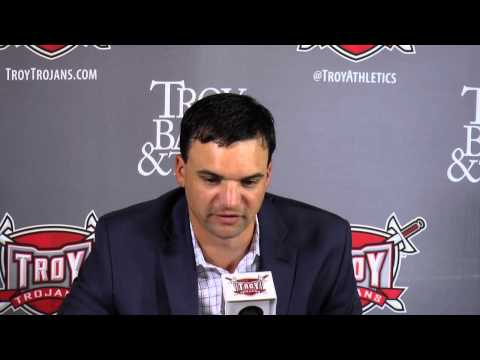 Troy Football Press Conference - Charleston Southern Game ...
