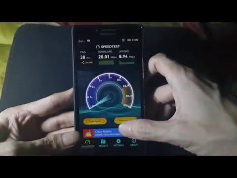 Speedtest 4G XL area Kalideres - Jakarta Barat