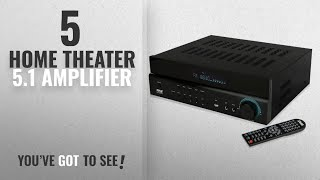 Top 5 Home Theater 5.1 Amplifier [2018]: Pyle Home Theater Amplifier Wireless Bluetooth Audio