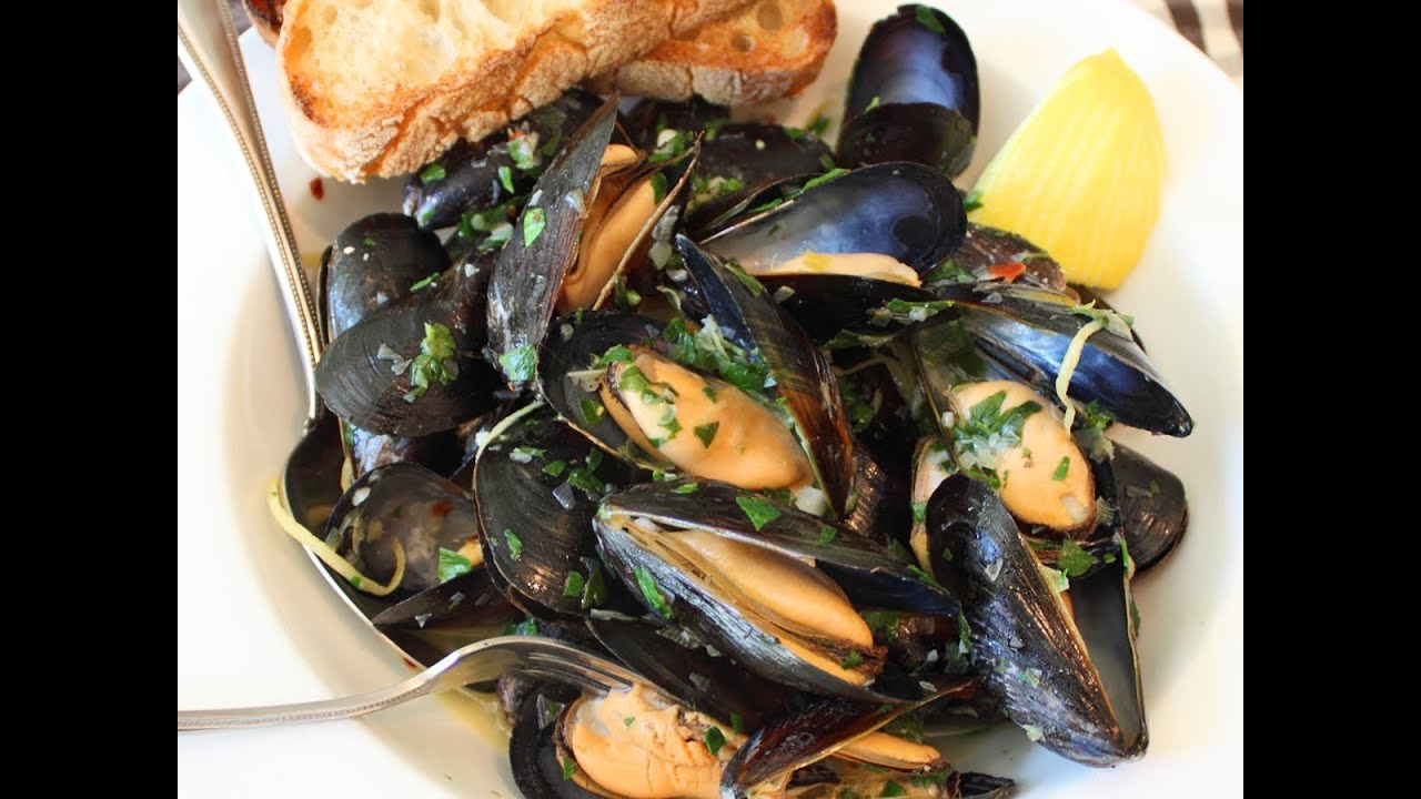 How to cook mussels 100