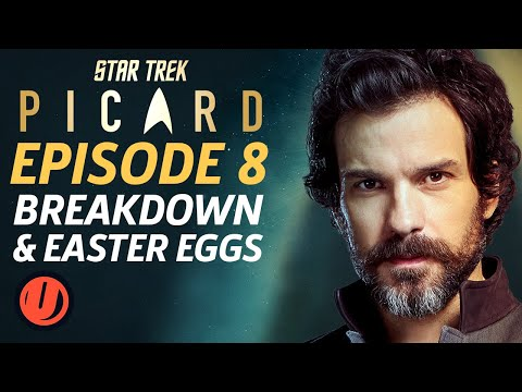 "Star Trek: Picard Episode 8 ""Broken Pieces"" Breakdown & Easter Eggs"