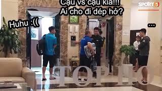 Đình Trọng bị phạt vì đi dép lê xuống sảnh khách sạn trong ngày hội quân trước thềm AFF Cup 2018