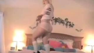 Repeat youtube video Sexy Blonde Dancing HOT