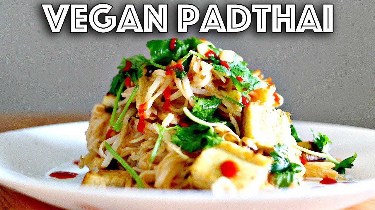 Easy vegan pad thai recipe youtube easy vegan pad thai recipe forumfinder Images