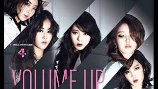 [Full Audio] 4Minute-06.Dream Racer MP3
