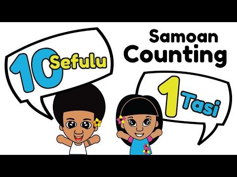 Samoan Numbers 1 - 10