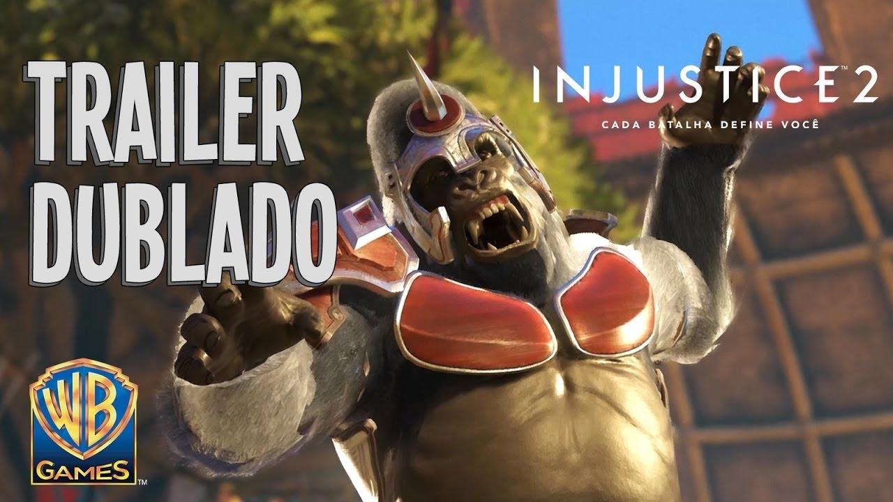 Injustice 2 - Trailer DUBLADO em Português do Brasil - Alianças Despedaçadas - Parte 4