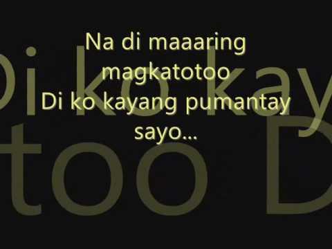 Fixing a Broken Heart Tagalog Version