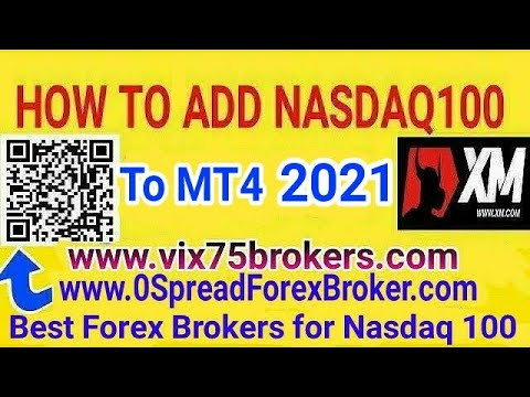 how-to-add-nasdaq100-to-mt4-xm-broker