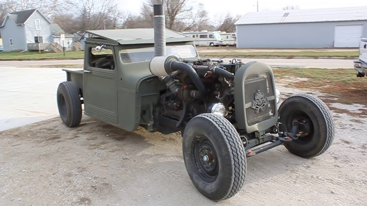Diesel Rat Rod Truck Youtube