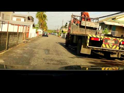 POV drive to Port of Spain Trinidad