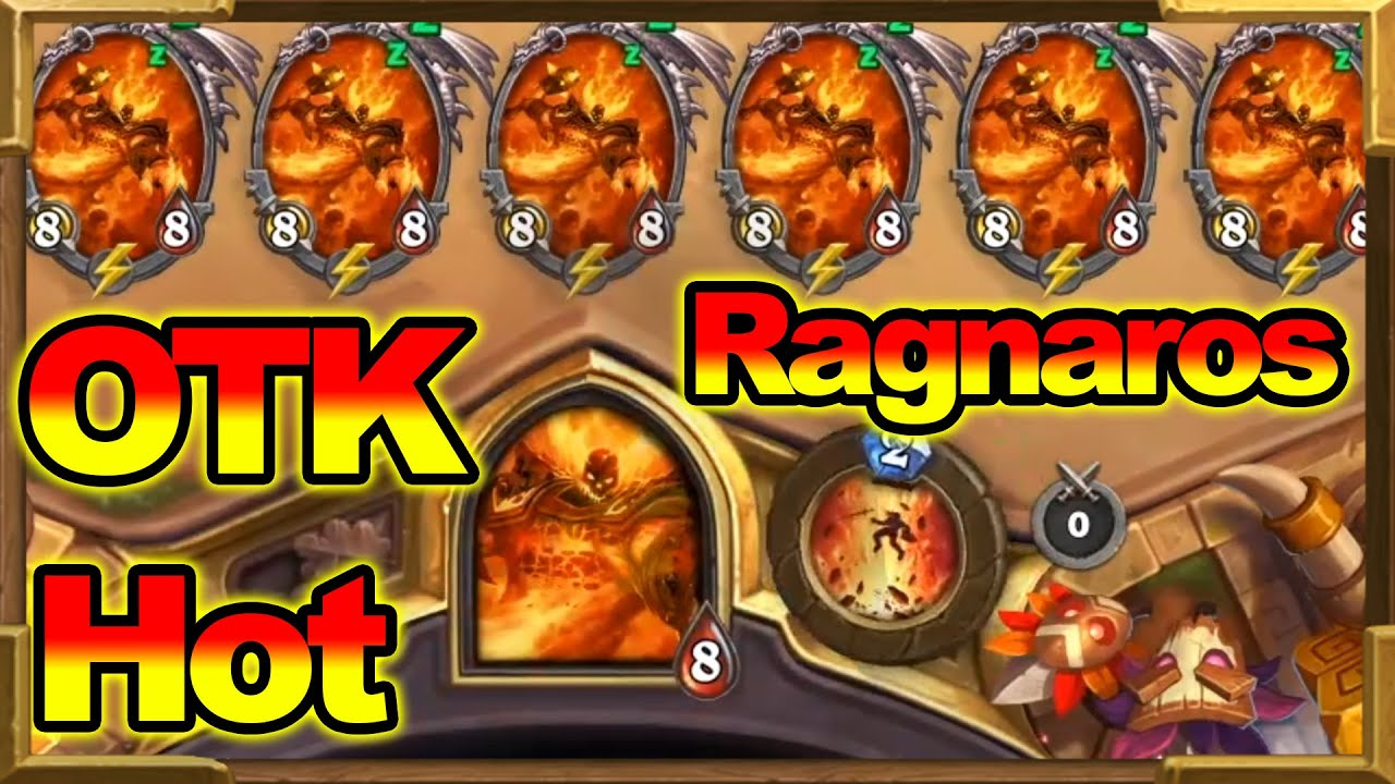 7  Ragnaros In One TURN OTK | The HOTTEST Combo In Wild For This Summer To Play | Hearthstone