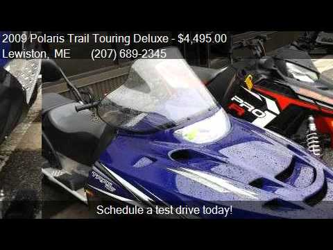 2009 Polaris Trail Touring Deluxe  for sale in Lewiston, ME
