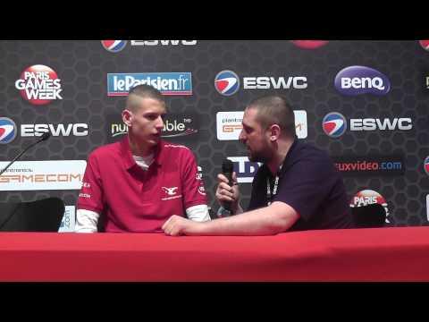 ESWC 2012: Stavros Interview