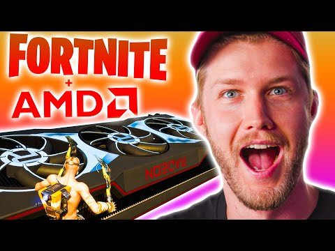 Looking at Radeon 6000... in Fortnite..?
